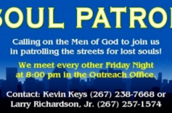 SOUL PATROL - Calling on Men Of God